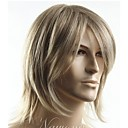 cheap Synthetic Capless Wigs-top grade quality man s short blonde straight synthetic hair wig men s best choice free shipping