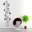 billige Møbelbetræk-Dyr Former Blomster Tegneserie Vægklistermærker Fly vægklistermærker Dekorative Mur Klistermærker, PVC Hjem Dekoration