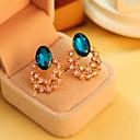 preiswerte Modische Ohrringe-Damen Kristall Ohrstecker Ohrring - Kubikzirkonia, Diamantimitate Luxus, Retro, Party Gold Für Alltag