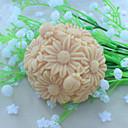 billige Veggklistremerker-blomsterkule dessert dekoratør såpe mold fondant kake sjokolade silikon mold, dekorasjon verktøy bakeware