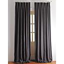 billige Tepper og pledd-Ferdiglaget Økovennlig gardiner gardiner To paneler 2*(W107cm×L305cm) / Soverom