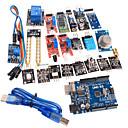 billige Hobbysett-20 i en sensormodul kit og forbedret versjon uno r3 atmega328p styret modul for Arduino