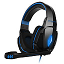 cheap Network Adapters-KOTION EACH Over Ear / Headband Wired Headphones Plastic Gaming Earphone with Volume Control / with Microphone / Noise-isolating Headset