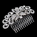 cheap Party Headpieces-Rhinestone Hair Combs with 1 Wedding / Special Occasion Headpiece