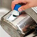 billige Kjøkkenrengjøringsmidler-Kjøkken Vaskemidler Plast Rengjøringsbørste og klut Verktøy 2pcs