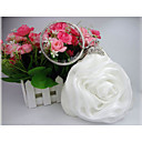 cheap Clutches & Evening Bags-Women's Bags Satin Evening Bag Flower Solid Colored White / Gray