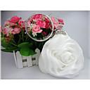 cheap Clutches & Evening Bags-Women's Bags Satin Evening Bag Flower White / Gray