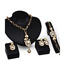 זול Fashion Ring-בגדי ריקוד נשים סט תכשיטים סט תכשיטים - זירקוניה מעוקבת, ציפוי זהב 18 קאראט זהב