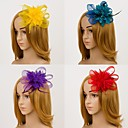 cheap Party Headpieces-Flower Fascinators Hair jewelry