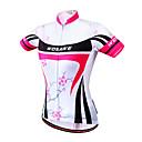 ieftine Jerseru Cycling-WOSAWE Pentru femei Manșon scurt Tankini / Jerseu Cycling Floral / Botanic Bicicletă Jerseu, Uscare rapidă, Design Anatomic, Respirabil