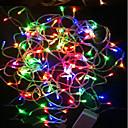 preiswerte Modische Halsketten-18m Flexible LED-Leuchtstreifen 180 LEDs LED Diode RGB Wasserfest / Farbwechsel 220 V / IP44
