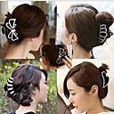 cheap Hair Accessories-south korean hair full diamond hairpin grasp bow clips