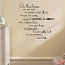 cheap Wall Stickers-Wall Decal Decorative Wall Stickers - Words & Quotes Wall Stickers Words & Quotes Removable