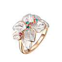 cheap Rings-Women's Multicolor Ring - Stylish, Classic 6 / 7 / 8 / 9 Gold For Wedding Party Party / Evening