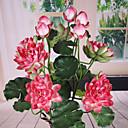 رخيصةأون زهور اصطناعية-زهور اصطناعية 1 فرع الطراز الأوروبي لوتس أزهار الطاولة