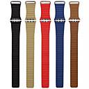 billige Smartklokke Tilbehør-Klokkerem til Apple Watch Series 4/3/2/1 Apple Lærrem Ekte lær Håndleddsrem