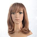 preiswerte Nagel Strass & Dekorationen-Synthetische Perücken Wellen Blond Synthetische Haare Blond Perücke Damen Kappenlos Blondine
