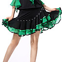 رخيصةأون ملابس رقص لاتيني-الرقص اللاتيني فساتين & تنورات للمرأة أداء بوليستر / سباندكس كشاكش الالتفاف / سامبا