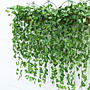 cheap Artificial Plants-Artificial Flowers 2 Branch Pastoral Style Plants Wall Flower