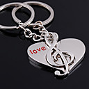 cheap Keychain Favors-Keychain Silver Alloy Fashion For Birthday / Gift