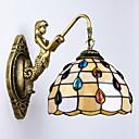 זול פמוטי קיר-COSMOSLIGHT מודרני / עכשווי מנורות קיר זכוכית אור קיר 220V 40W
