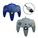 hesapli Wii Aksesuarları-N64 Kablolu Oyun Denetleyicileri Uyumluluk Wii ,  Oyun Kolu Oyun Denetleyicileri ABS 1 pcs birim
