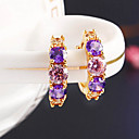 cheap Jewelry Sets-Women's Stud Earrings / Hoop Earrings - Bohemian, Fashion, Boho Purple / Screen Color For Daily