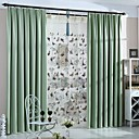 preiswerte Fenstervorhänge-Maßgfertigt Verdunkelung Verdunklungsvorhänge Vorhänge zwei Panele 2*(W183cm×L160cm) Minzgrün / Schlafzimmer