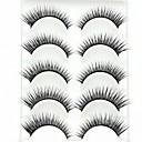 cheap Eyeshadows-Eyelash Extensions False Eyelashes 10 pcs Volumized Fiber Daily Thick Natural Long - Makeup Daily Makeup Cosmetic Grooming Supplies