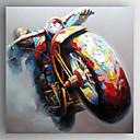 halpa Muotokuvamaalaukset-Hang-Painted öljymaalaus Maalattu - Pop Art Moderni Kangas