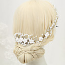 cheap Party Headpieces-Imitation Pearl Rhinestone Alloy Hair Combs 1 Wedding Special Occasion Headpiece