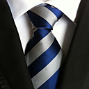 cheap Men's Accessories-Men's Party Work Basic Polyester Necktie - Striped