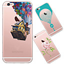 abordables Collares-Funda Para iPhone 5 Apple Funda iPhone 5 Ultrafina Traslúcido Diseños Funda Trasera Caricatura Suave TPU para iPhone SE/5s iPhone 5