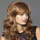 halpa Tanssiasusteet-Synteettiset peruukit Naisten Laineita Vaaleahiuksisuus Synteettiset hiukset Vaaleahiuksisuus Peruukki Keskikokoinen Suojuksettomat Vaaleahiuksisuus