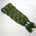 baratos Tranças de Cabelo-Cabelo para Trançar Liso Tranças Jumbo Cabelo Sintético 1 Peça Tranças de cabelo Longo