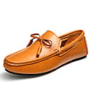 cheap Dance Sneakers-Men's Moccasin Nappa Leather Summer / Fall Boat Shoes Black / Dark Blue / Light Brown / Party & Evening