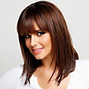 cheap Human Hair Capless Wigs-Human Hair Capless Wigs Human Hair Straight Capless Wig