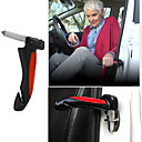 cheap Car Emergency Tools-Deluxe Auto Car Mobility Standing Aid Cane Grip Handle - Super Bright Led Flashlight