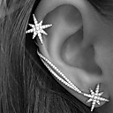cheap Bracelets-Women's Ear Cuff / Earrings - Rhinestone Star Personalized, European, Fashion Silver For Wedding / Party / Gift