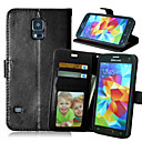 cheap Cellphone Case-Case For Samsung Galaxy Samsung Galaxy Case Wallet / Card Holder / with Stand Full Body Cases Solid Colored PU Leather for S6 edge plus / S6 edge / S6