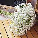 cheap Artificial Flower-Artificial Flowers 6 Branch Pastoral Style Baby Breath Tabletop Flower