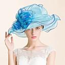 cheap Party Headpieces-Gemstone & Crystal Organza Hats Headpiece with Crystal 1 Wedding Special Occasion Party / Evening Casual Outdoor Headpiece