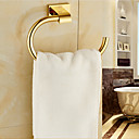 cheap Bath Fixtures-Towel Bar Contemporary Brass 1 pc - Hotel bath towel ring