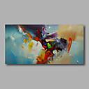 baratos Pinturas Abstratas-Pintura a Óleo Pintados à mão - Abstrato Modern Tela de pintura