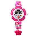 ieftine Ceasuri La Modă-femei Ceas Brățară Digital Piele PU Matlasată Pink / Violet Piloane de Menținut Carnea Charm Modă - Mov Roz Doi ani Durată de Viaţă Baterie / Maxell626 + 2025