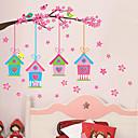 preiswerte Weihnachtsschmuck-Dekorative Wand Sticker / Foto Sticker - Flugzeug-Wand Sticker Landschaft / Weihnachten / Blumen Wohnzimmer / Schlafzimmer / Badezimmer