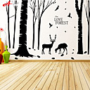 cheap Wall Stickers-Decorative Wall Stickers - Plane Wall Stickers Landscape / Animals Living Room / Bedroom / Bathroom
