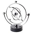 halpa Koristeelliset esineet-figurines miniatyyrit pendulo de newton metalli tasapaino pallo energiansäästö malli metalli craft newton swing desk koristeet