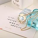 cheap Bracelets-Women's Pendant Necklace Alloy Pendant Necklace ,