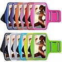 baratos Capinhas para Celular & Protetores de Tela-Capinha Para iPhone 6s Plus / iPhone 6 Plus / iPhone 6s com Visor / Braçadeira Faixa de Braço Sólido Macia Têxtil para